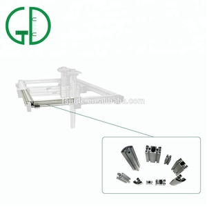 Custom Design High End t slot Aluminium Profile Extrusion Table