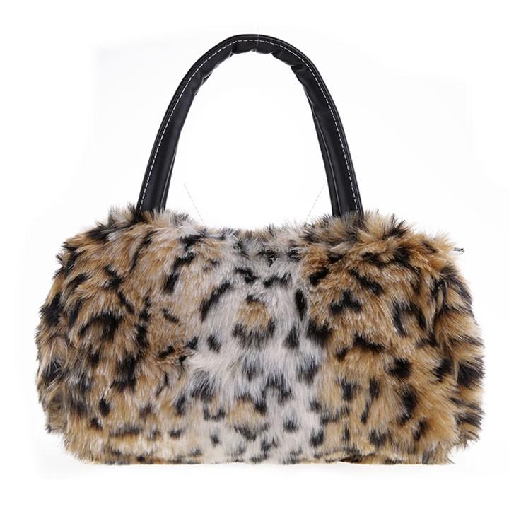 Get Quotations · 2015 Spring New Arrival Women Tote Bag Mini Lovely Plush Faux  Fur Handbag Shoulder Bag B2 4128a72a64992