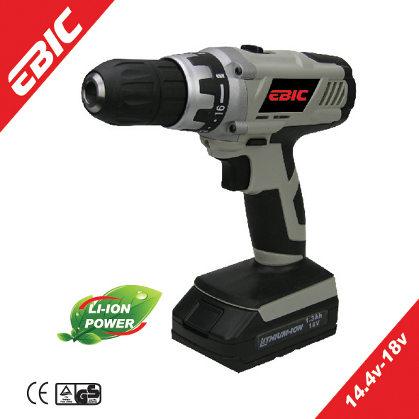EBIC 14.4V-18V electric names power tools cordless drill