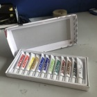 12 ml oil paint set for children DIY