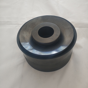 High pressure NBR urethane rubber bonded sealing piston