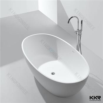 Modern White Shallow Bathtub,Solid Surface Bath Tub - Buy Shallow ...