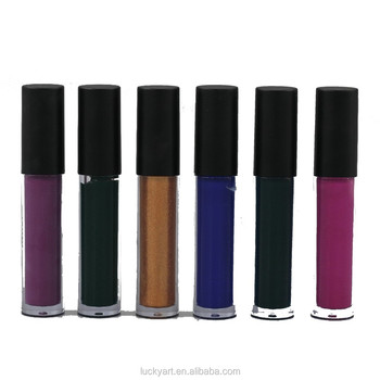 6 Colors set of UV Lip Gloss