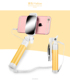 wholesaler non-bluetooth wired long tripod Mini selfie stick monopod with mirror for cell phones