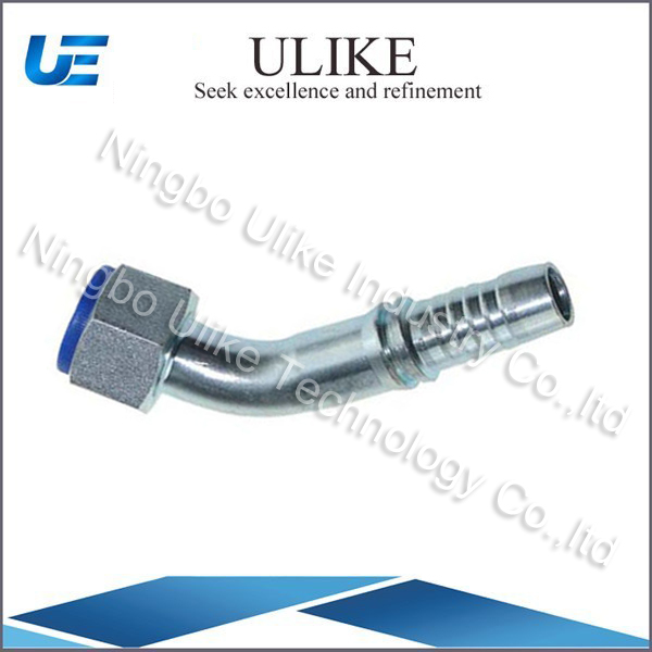 Carbon Steel 45 Degree JIS Gas Female 60 Degree Cone Seat Hose Fitting 29641