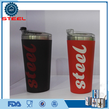 Paragraph-blasting black color changing mug