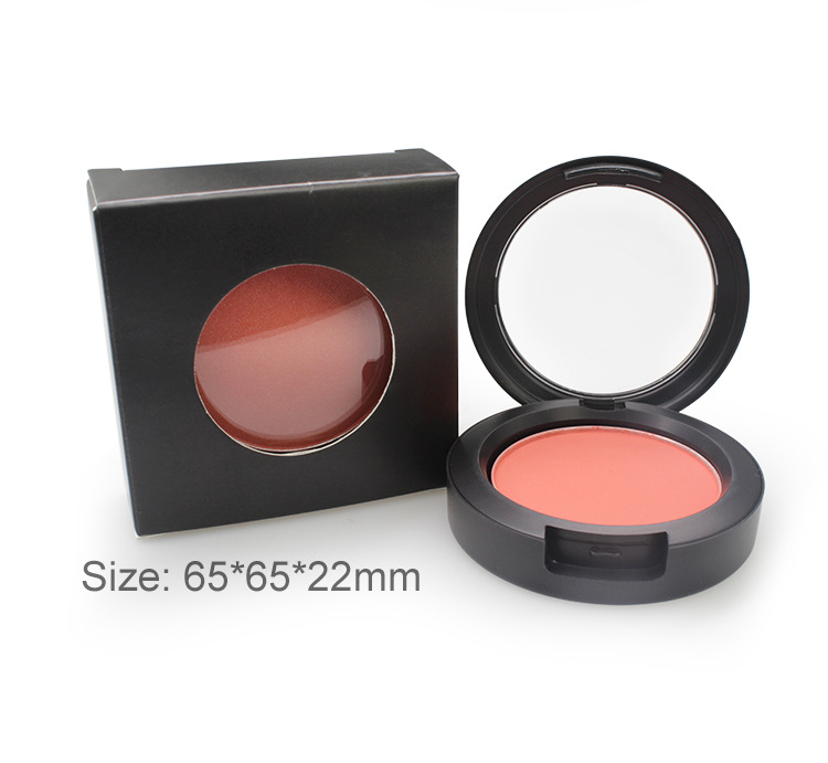 Wholesale Factory Good Price Hot Selling  Cosmetic Single Blush Vegan Cruelty Free OEM Custom Private Label