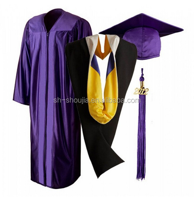 Royal Purple Graduation Gown Purple Royal Doctoral Graduation Gown ...