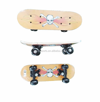 17*5 inch 9 ply Chinese Maple skateboard Kids skateboard cheap with sticker