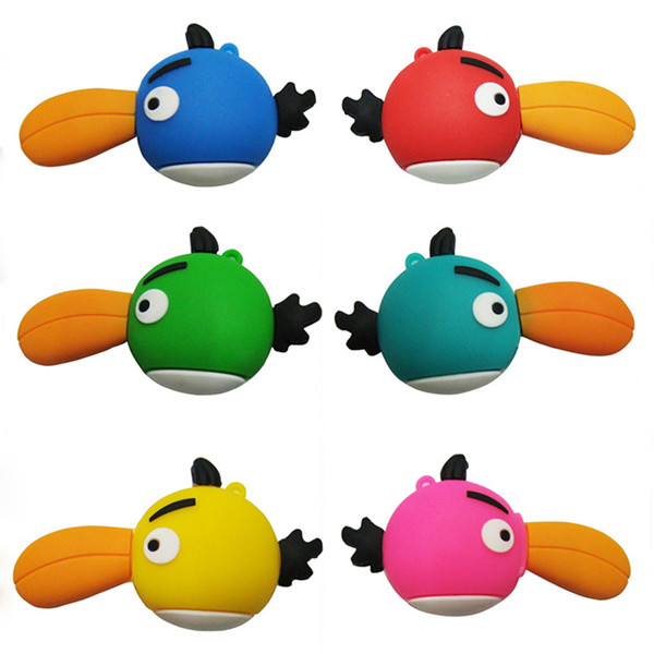 PVC usb,different Bird shape usb flash memory