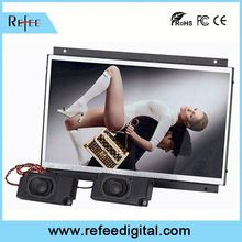 Media Player and Android Solution advertising display 12 inch touch screen monitor