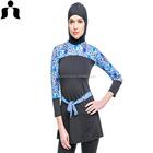 2017 new design girls muslim swimwear /beachwear