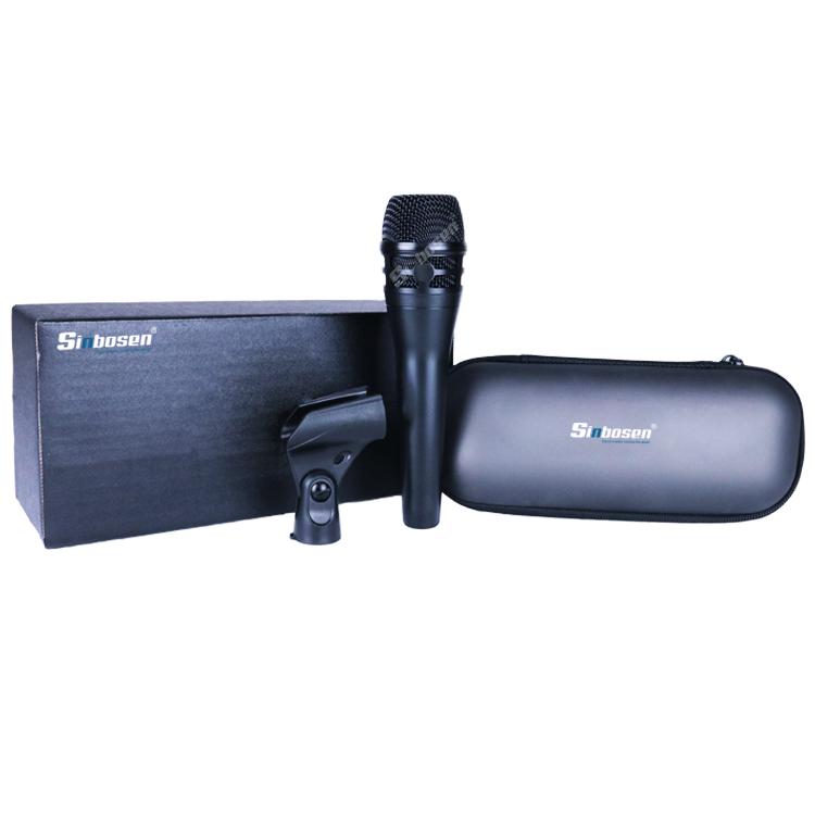 Sinbosen KM-8 Dinamis Genggam Kabel Mikrofon untuk Panggung Profesional Kinerja Rumah KTV Rekaman