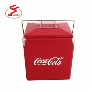 2018 NEW Design Retro Metal Beer Cooler metal ice chest Gift Box