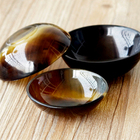 Multi-function Crafted Salad Soup Natural OX Buffalo Horn Bowl