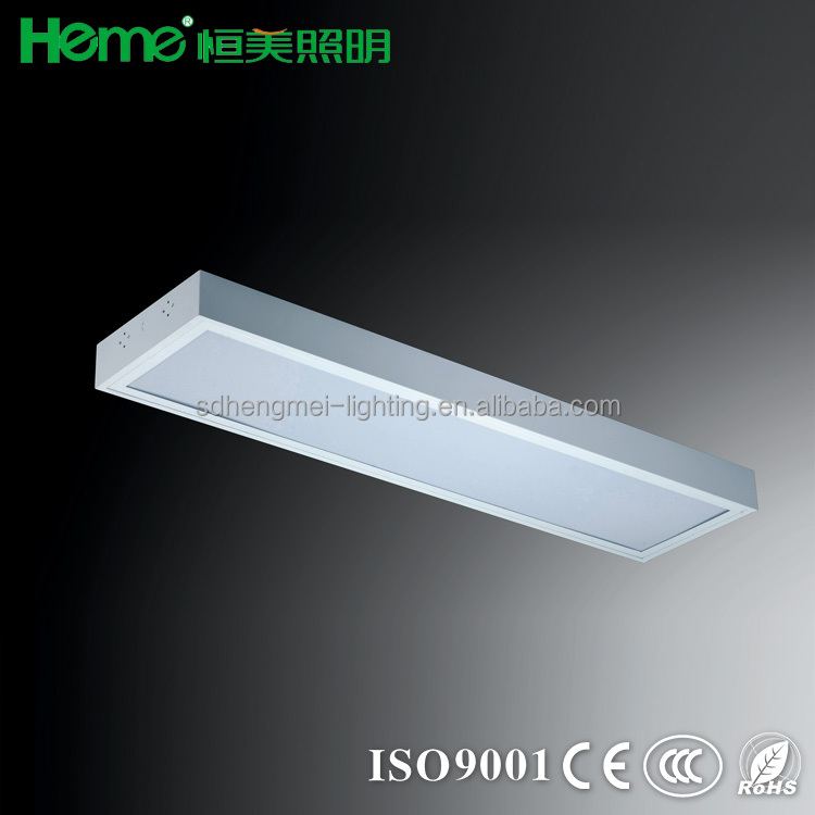 Surface Prismatic Disffuser Lighting Fixture Mounted Light Fixtures T8 Opal Fitting Recessed Troffer On