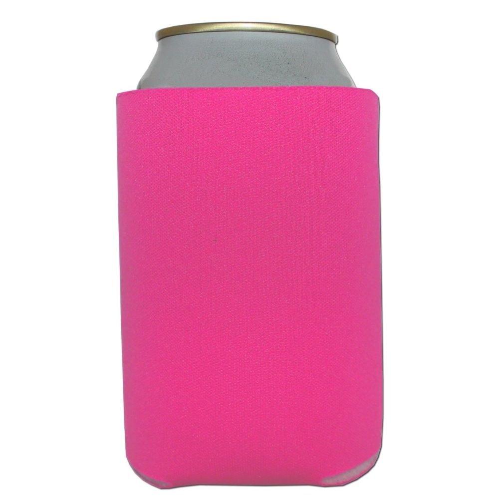 Buy Defonia 12 Pink Can Koozie Blank Beer coolers 12 oz Wedding in ...