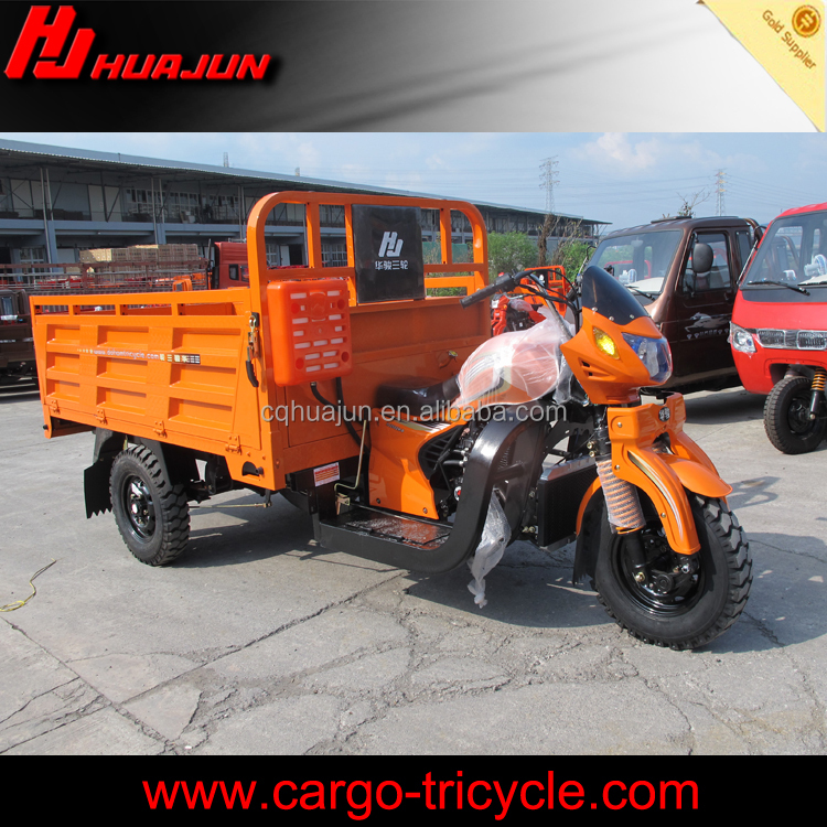 China hot sale large loading capacity 250cc cargo tricycle 3 wheel motorcycle