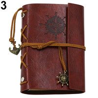 China supplier new products korean stationery,ancient hardcover pu leather notebook online sale