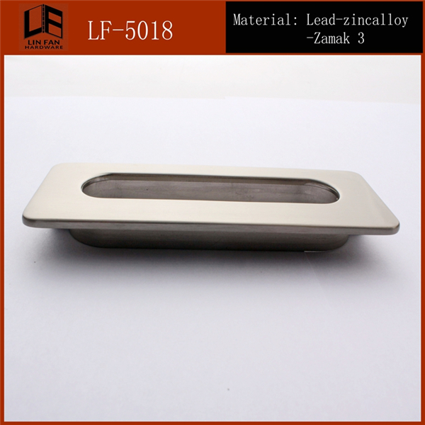 zinc alloy square door lever <strong>handle</strong> LF-5018