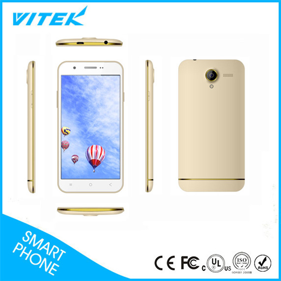 Low Price Wholesale New Promotion 3G Golden Thin 5 inch smartphone mtk6580