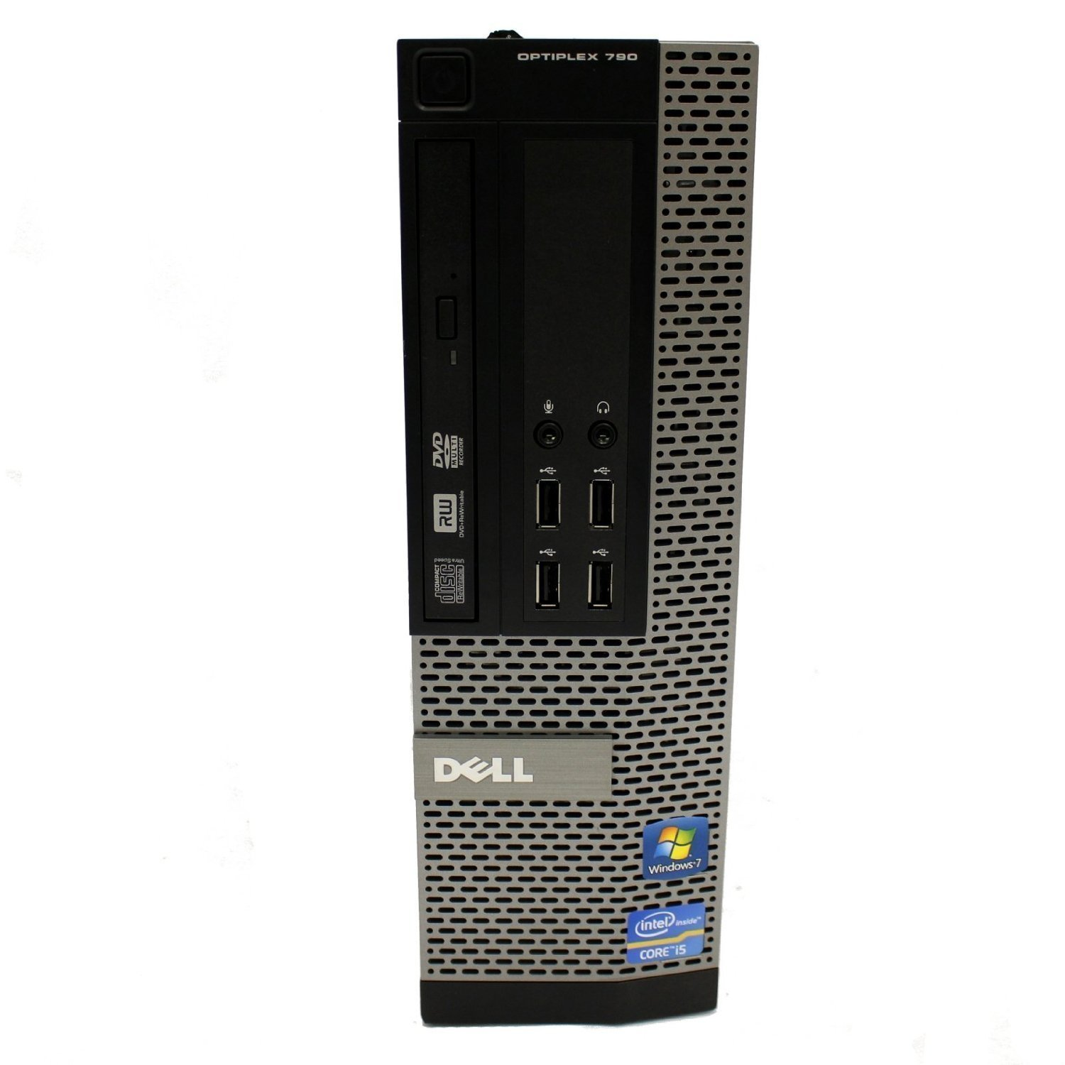 Dell OptiPlex 790 SFF Desktop PC - Intel Core i3-2120 3.3GHz 8GB 250GB DVDRW Windows 10 Pro (Certified Refurbished)