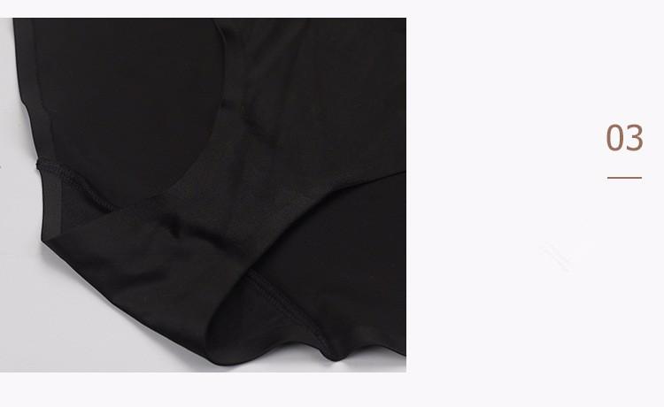 Women's Shapewear Body Briefer See-through Slimmer Body Shaper 6