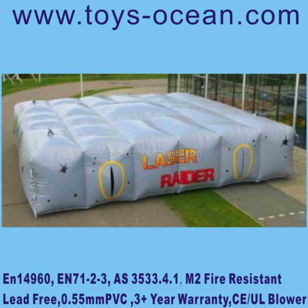 Indoor Laser Tag Game Inflatable Laser Tag Arena For Sale