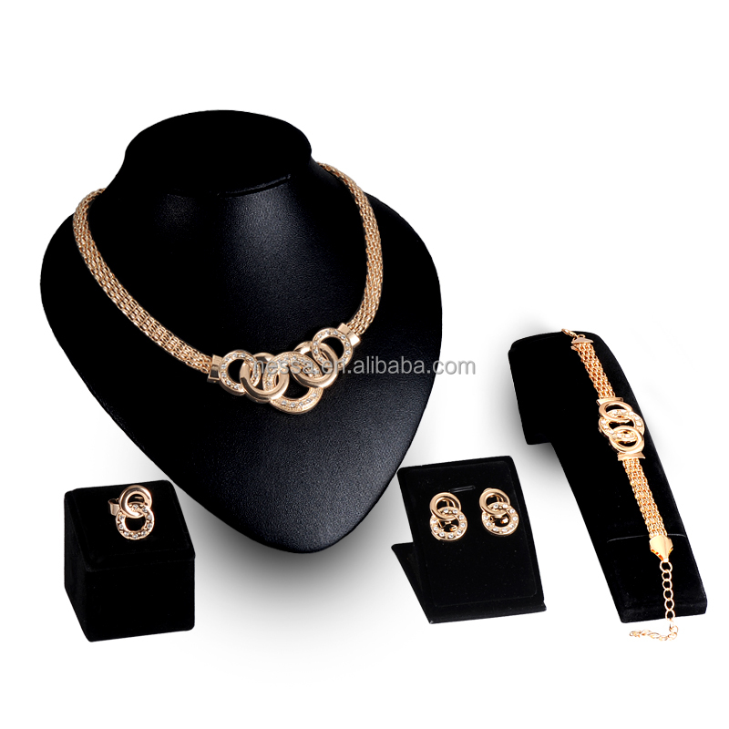 Fashion Jewelry Set,Gold Jewelry,18k Gold Jewelry