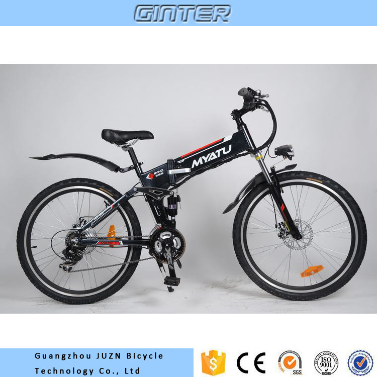 Wholesale electric mountain bike bycicle electric folding bike