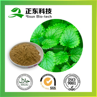 cosmetics industry product lemon balm extract 10:1brown fine powder