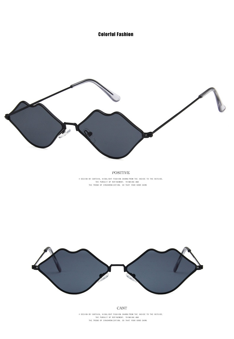 2019 New Model Heart Shape Sunglasses for Women Polarized Colorful Lens Plastic Frame Fashion Eyewear Glasses