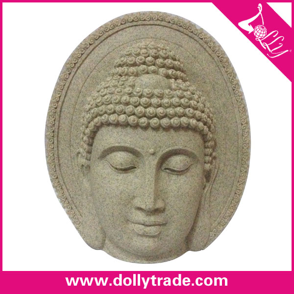 Resin Crafts Buddha Head For Decor