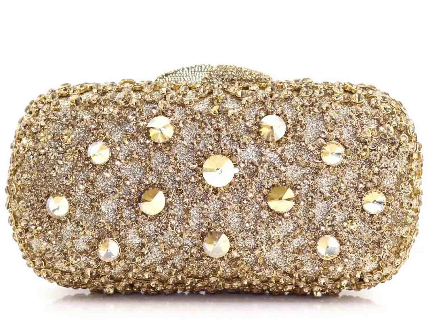 04b79e665ccf1 Kristal altın el çantası tasarım kadın parti Taklidi Nedime debriyaj çanta  debriyaj akşam çantalar düğün kılıf