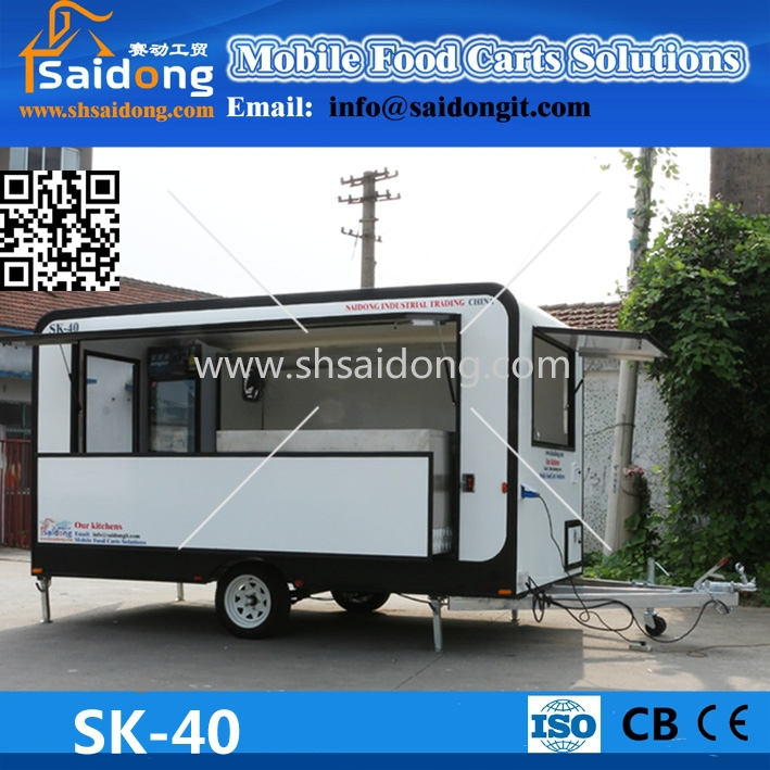 Big Marketable China Suppliers Concession Trailers/donut Machine ...