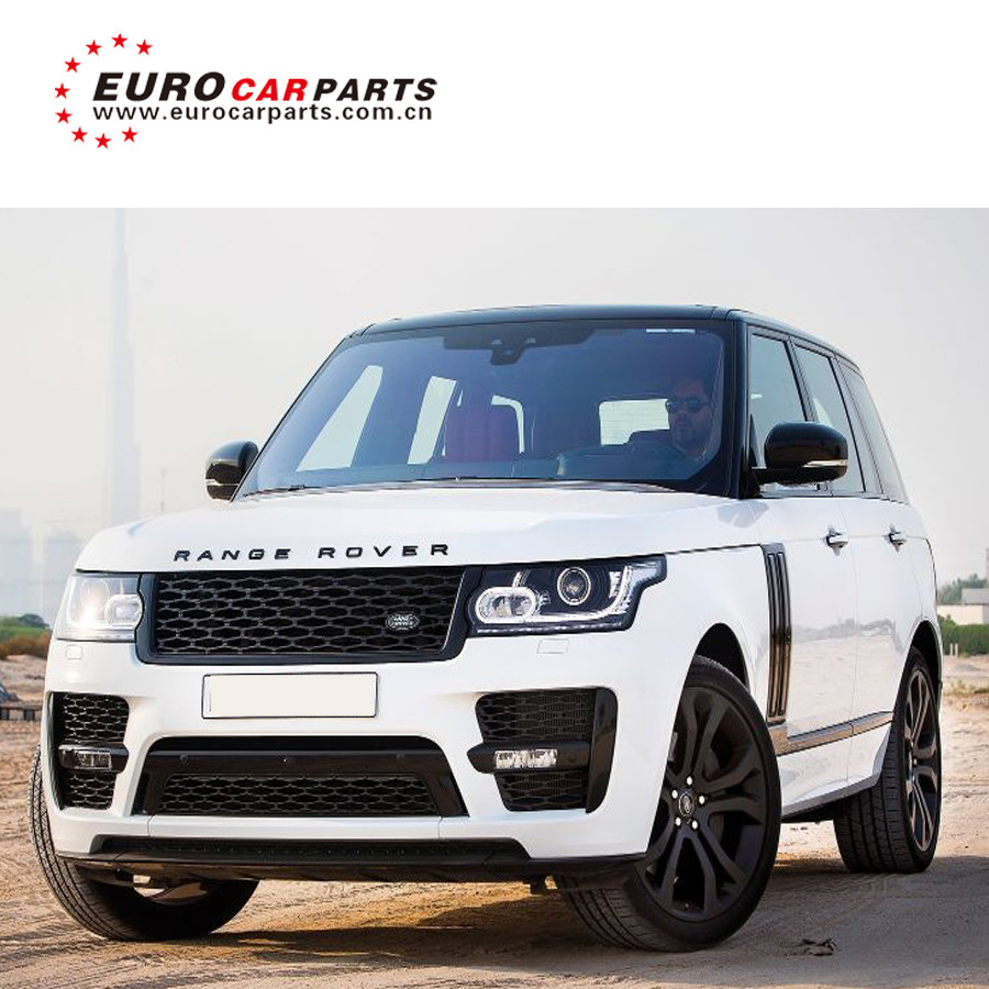 2018 Year Range Vogue Svo Body Kits With Front Bumper Rear Bumper