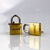heavy duty high polished brass padlock anti-rust 20MM