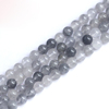 8mm round natural cloudy quartz beads fashionable gemstone jewellery