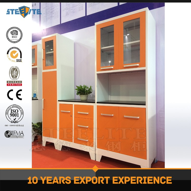 Factory price knock down modern high gloss finish kitchen for Kitchen units in zambia