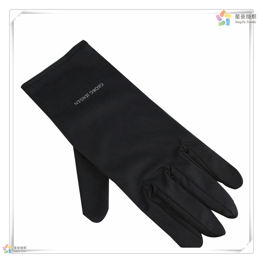Black microfiber jewelry gloves - Gv_4wholesale Gloves Jewellery Gloves Microfiber Jewelry Gloves