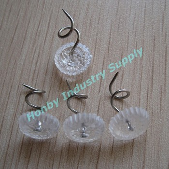 13mm Clear Furniture Decorative Upholstery Twist Pin Buy