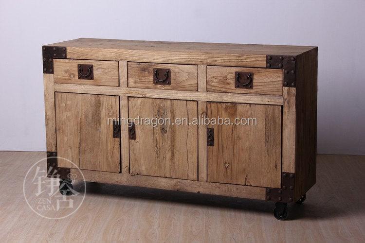 Chino antiguo reciclado libro estanteria de madera muebles for Reciclado de muebles de madera antiguos