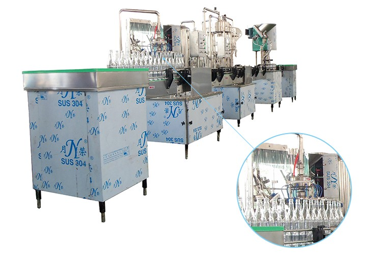 China factory low price energy drinks automatic filling capping machine