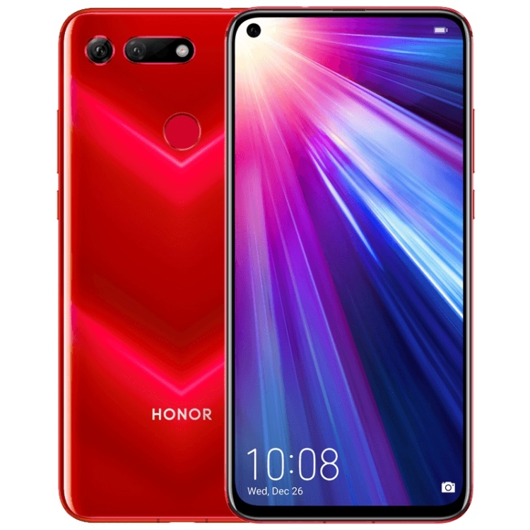 mobile <strong>phone</strong> Huawei Honor <strong>V20</strong> 8GB+128GB China Version Fingerprint Identification Dual AI Back Cameras Support Google Play