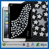 Crystal candy colors back case for ipad mini plastic stand skin