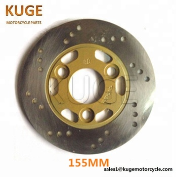 motorcycle brake disc for Yamaha JOG 50CC Chinese Scooter GY6 155mm