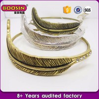 High quality low price Jwelry cuff bracelet antique silver