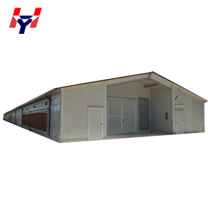 Flexible design Light prefab steel structure pig house drawing for sale