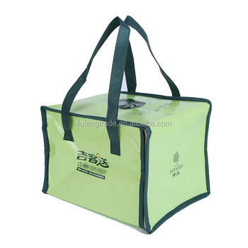 Thermal Disposable Lunch Bag Insulated Food Cooling Bags For Travel