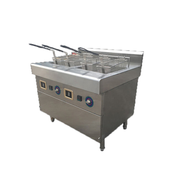 electric automatic chip seeds oil water peanut rice continuous fryer fries basket filter machine for restaurant